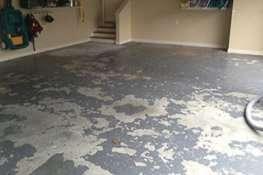 failed epoxy garage floor